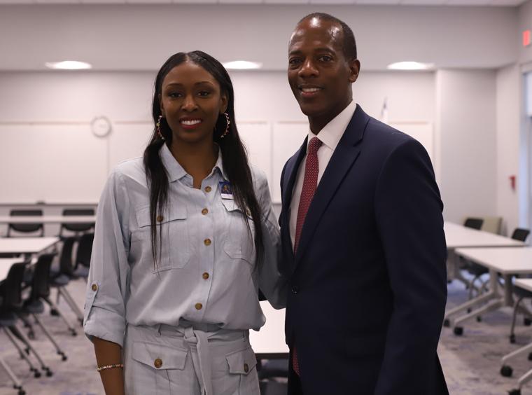 Commissioner Demerson visits CTE