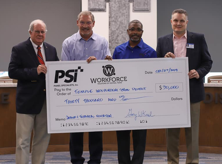 Industry Partnership Grant-PSI and Workforce Solutions of Central TX