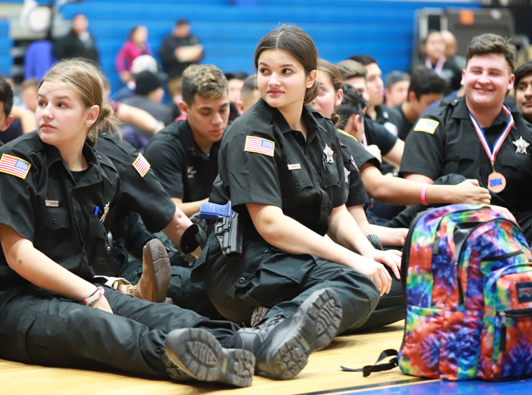 Police Explorers Competition Hosted by TISD Dec 2019